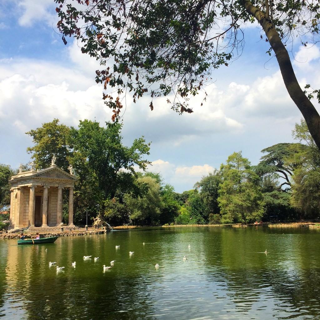 Jardin Borghese Rome