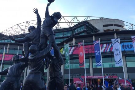 Londres coupe du monde de rugby