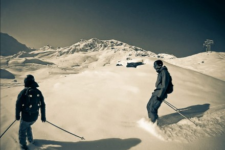 Ski objets connectés