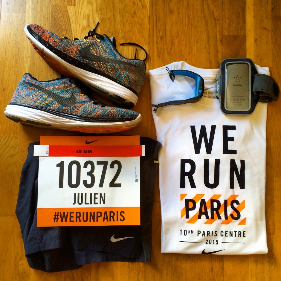 We Run Paris - 10Km Paris Centre Nike