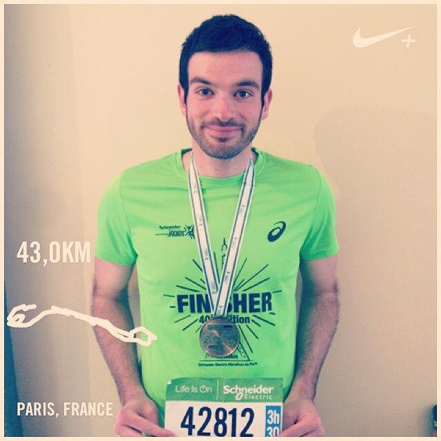 Schneider Marathon de Paris