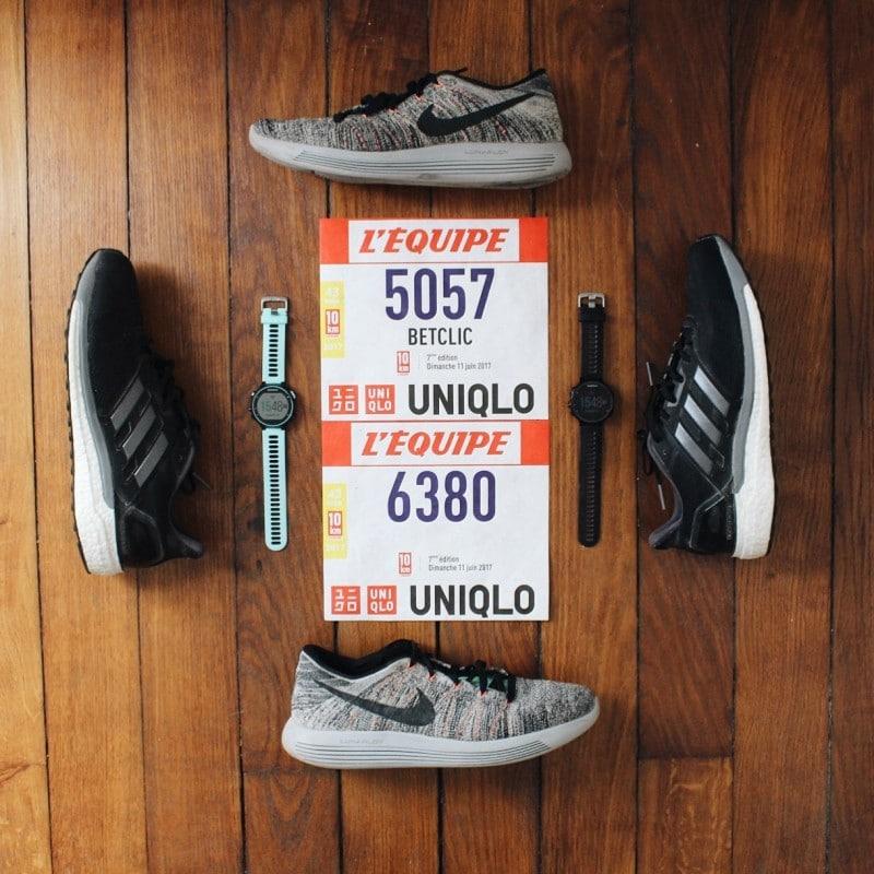 10km l'équipe compte rendu