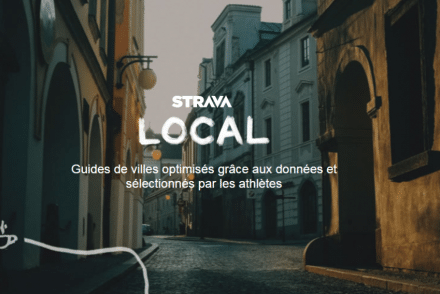 Fonctionnalités Strava
