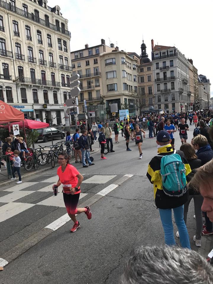 compte-rendu semi-marathon run in lyon