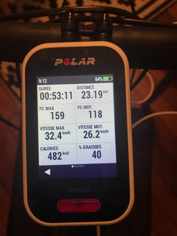 TEST] Polar V650 Compteur Vélo GPS
