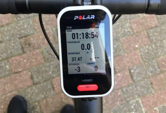 [TEST] Polar V650 Compteur Vélo GPS