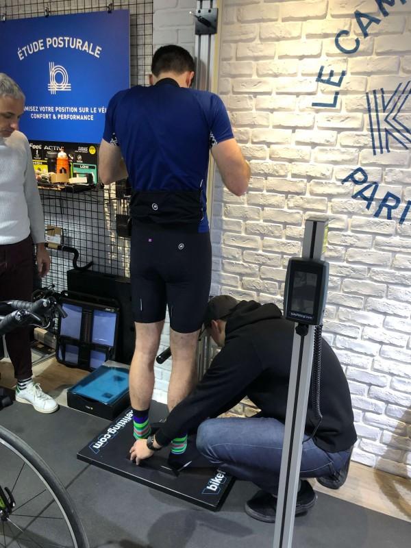 étude posturale triathlon