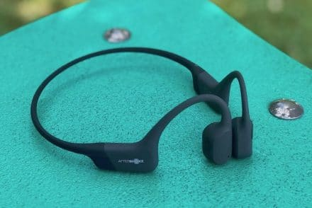 Test casque aftershokz aeropex