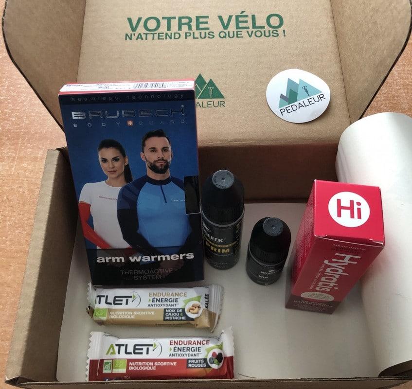 box pedaleur mars avril