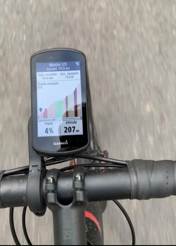 Test Compteur Vélo Garmin Edge 1030 Plus