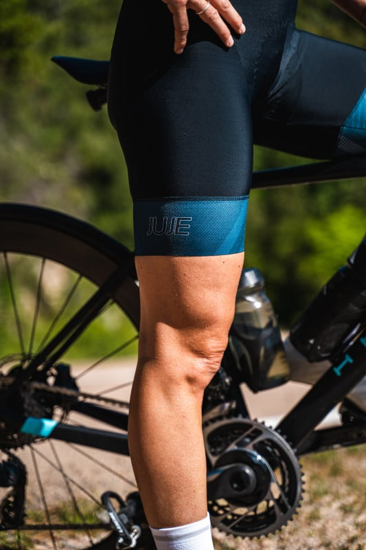 Cuissard Vélo Endurance Femme JUJE 21- Triathlon et cyclisme 2