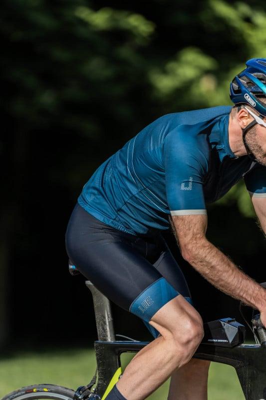 Cuissard Vélo Endurance Homme JUJE 21- Triathlon et cyclisme 1