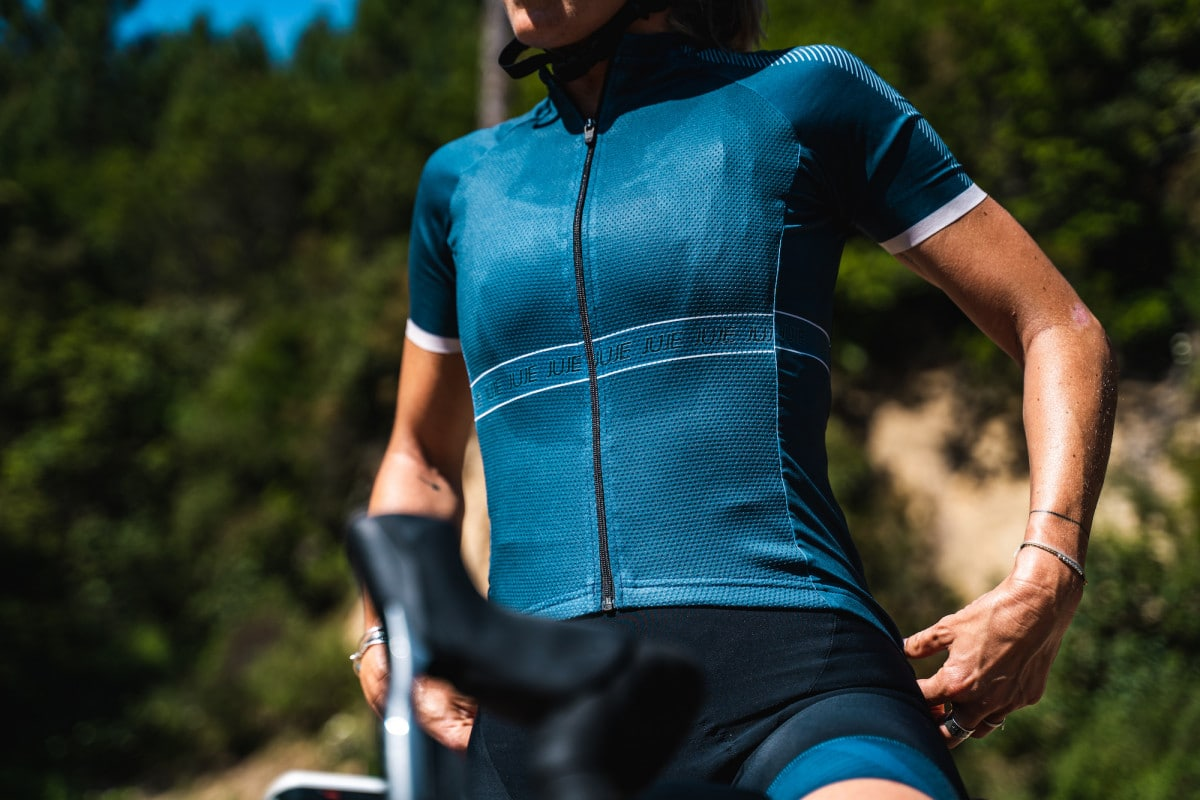 Maillot Vélo Endurance Femme JUJE 21- Triathlon et cyclisme 1